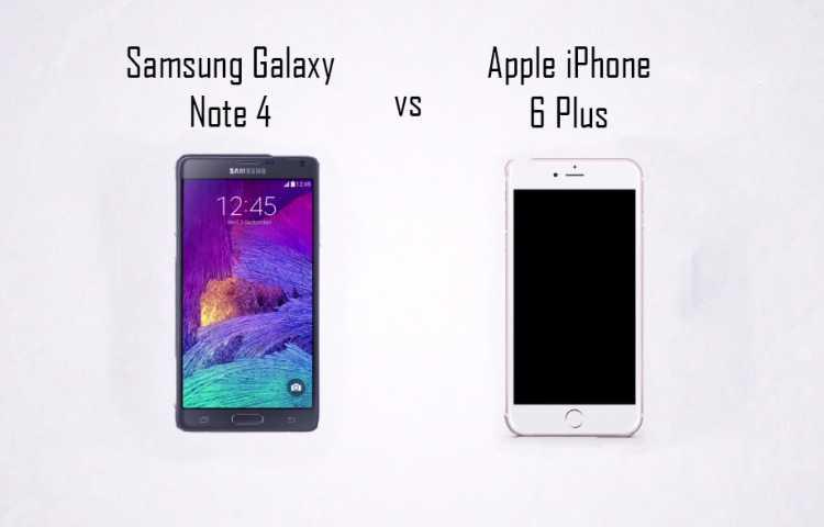 iphone 6 vs note 4 specs